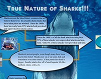 True Nature of Sharks!!! Infographic