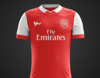 2016 Arsenal Concept Kits
