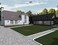 Реконструкция Жилого дома с Пристройкой бассейна
