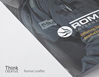 Romar A5 Leaflet