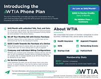 WTIA Sales & Marketing Collateral
