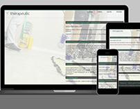 Strona internetowa / Website – thérapeutic