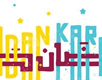 Ramadan Typography ( free ai )