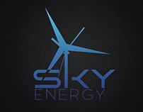Sky Energy Identity Design.