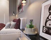 Semorad bedroom design