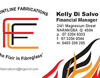 FrontLine Fabrications Branding and Business Cards