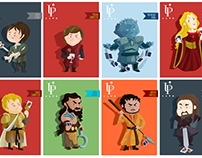Game of Thrones Poker Characters