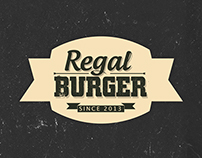 Regal Burger branding