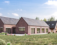 CGIs for a project in Ashbourne