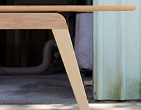 The Eureka dining table