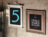 Chalk Board Mockups