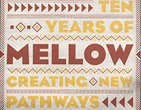Mellow Ten Years campaign poster.