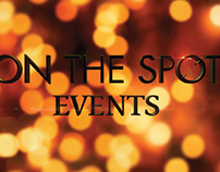 ON THE SPOT EVENTS LOGO