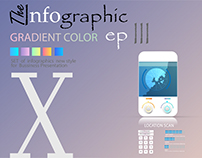 infographic X for presentation A4