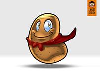 Potato Mascot Design