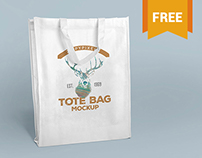 Free Tote Bag Mockups Vol. 1