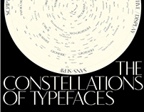 The Constellations of Typefaces