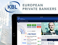 KBL Bank iPad app