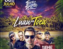 Flyer Luau da Toca