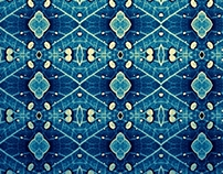 Pattern blue base