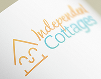 Independent Cottages Logo Design