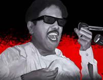 kalaignar_Digital_Painting