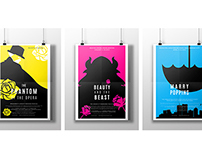 Broadway Show Poster Series