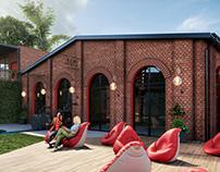 VP Visualization Restaurant and Recreation Complex 3D