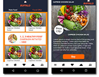 Food Car Apps ׀ UI Design ׀ Package Page