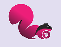 """Brand Identity for """"The squirrel thief """""""