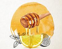 AlShifa Honey art direction