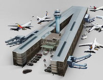 A FOR AIRPORT | 3D type