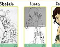 Art Commission Information!