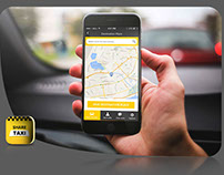 'Share taxi' ios / android new business concept UX app