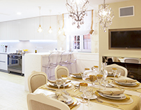Amazing Kitchen with Dining Room