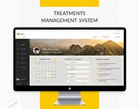 Treatments  Management System