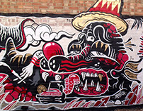 Walls by The Yok & Sheryo 2013