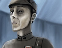 Star Wars Rebels Study- Imperial officer