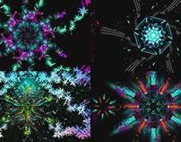 Crystal Snowflakes - VJ Loop Pack (4in1)