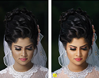 Beauty and Glamour Retouching for Bridal and Fashion