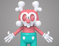 Kranyus Vinyl Toy. Design and Visualisation