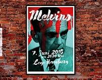 Melvins Concert Poster