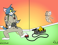 Tom & Jerry Ghostbusters