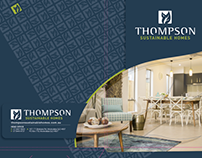 Thompson Sustainable Homes - Corporate Folder Design