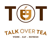 LOGO DESIGN http://www.talkovertea.com/
