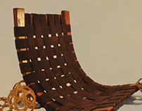 The Marsala Webbed Seat