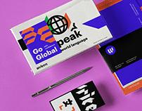 Writers brand design.