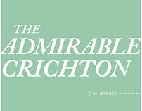 The Admirable Crichton Play Typesetting