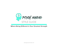 Psych Minded Branding Guide