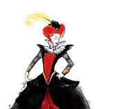 Elizabethan Black Widow